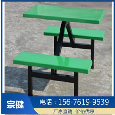 横县学生食堂餐桌椅_四人位条凳多少钱
