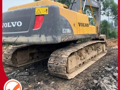 贵州二手挖掘机 11年沃尔沃210 二手挖机 二手挖掘机交易市场