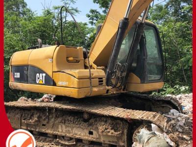 卡特320D挖掘机 进口 电喷 二手挖掘机