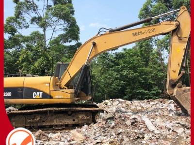 广西挖掘机价格 卡特320D挖掘机 进口 电喷 二手挖掘机