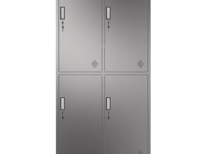不锈钢四门更衣柜 广西南宁厂家直销 不锈钢柜定制