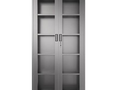文件柜 不锈钢通玻文件柜 广西南宁厂家直销 不锈钢柜定制