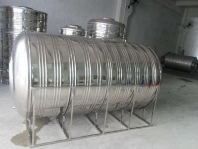 马山县圆柱形水箱-不锈钢水箱价格-桂和制造-可定制大小