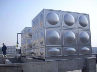 武鸣不锈钢水箱定制  楼顶  工厂储水专用  价格实惠