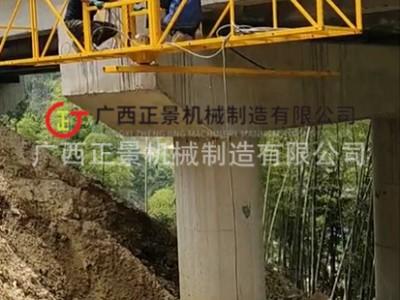 立交桥腹板排水管安装施工作业机器