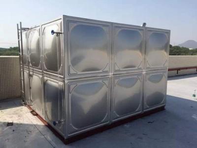 广东不锈钢水箱定制  楼顶  工厂储水专用  价格实惠