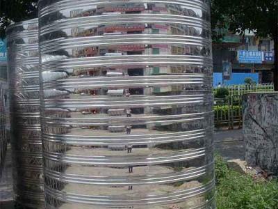 广东不锈钢水箱价格 销售圆柱形水箱-厂家直销