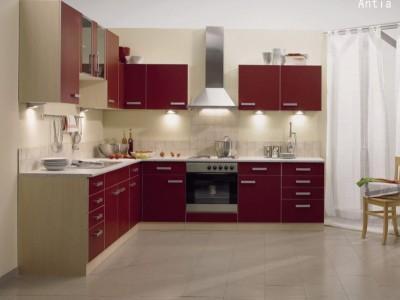桂厨现代简约不锈钢橱柜新款特价 整体厨房不锈钢橱柜定制