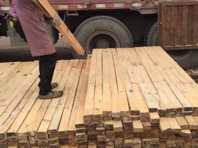 金生水杉木木方 1方顶3方 质量更保障 节约更多成本