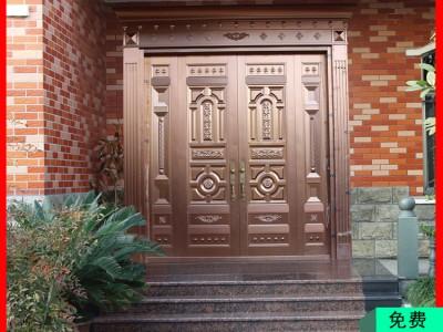 广东广西农村风水仿铜门私人定制 镇宅旺运招财铜门 可用一辈子的铜门