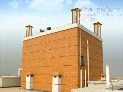 玻璃钢天线美化罩-广西玻璃钢天线美化罩厂家-南宁向上玻璃钢厂