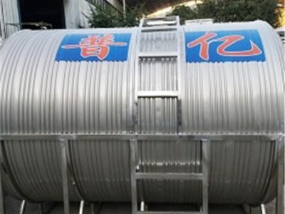 南宁圆柱水箱厂 圆柱型不锈钢水箱价格 耐腐蚀不锈钢水箱