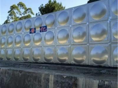柳州不锈钢水箱定制 1-500吨不锈钢水箱生产厂 专业定制不锈钢水箱价格