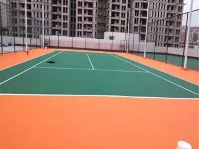 硅PU厂家直销 桂林硅PU篮球场地坪漆