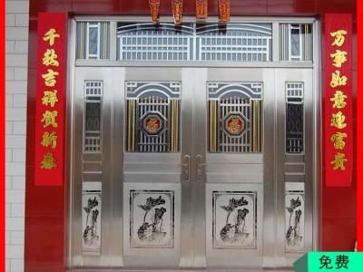 桂林金大吉工厂供应豪华不锈钢大门 小区不锈钢防盗门