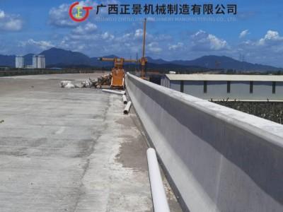 立交桥腹板排水管安装施工作业行走车