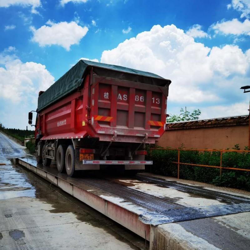 广西柳州电子地称  60吨电子汽车衡  坚固耐用生产厂家