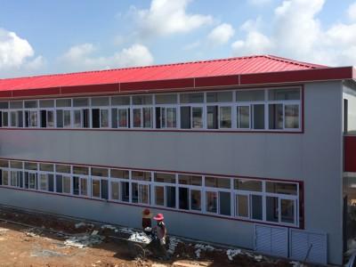医院追加用房活动房安装 双层K式四坡活动房报价 K式板房价格