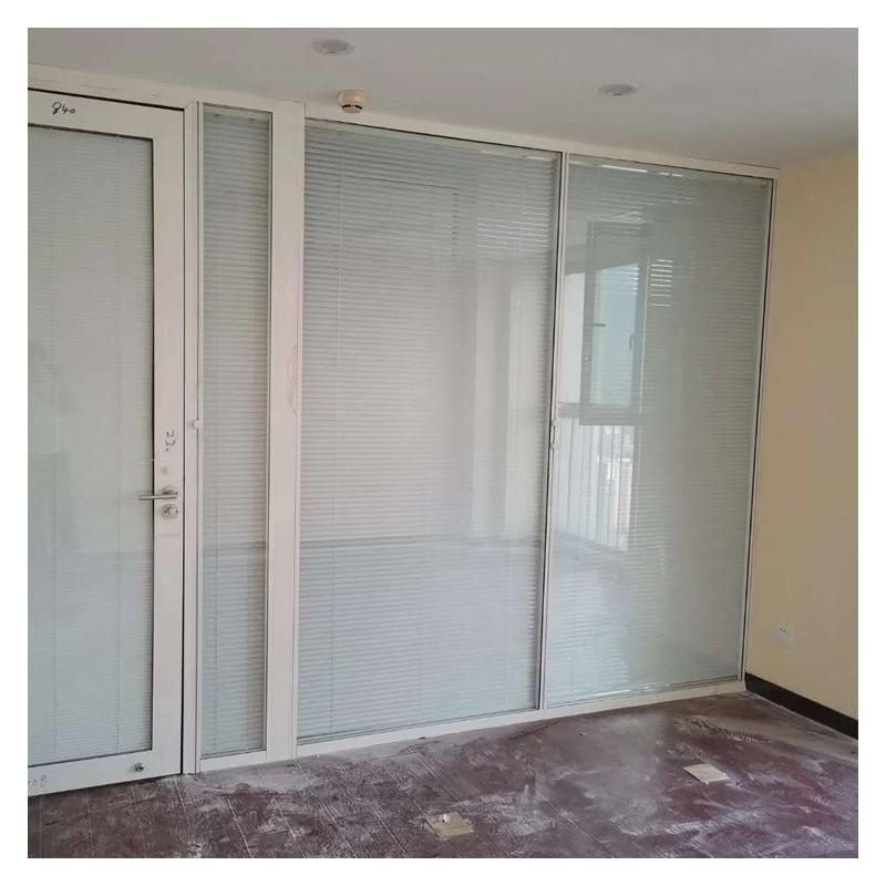 双玻百叶隔断 加厚钢化玻璃 广西玻璃隔断