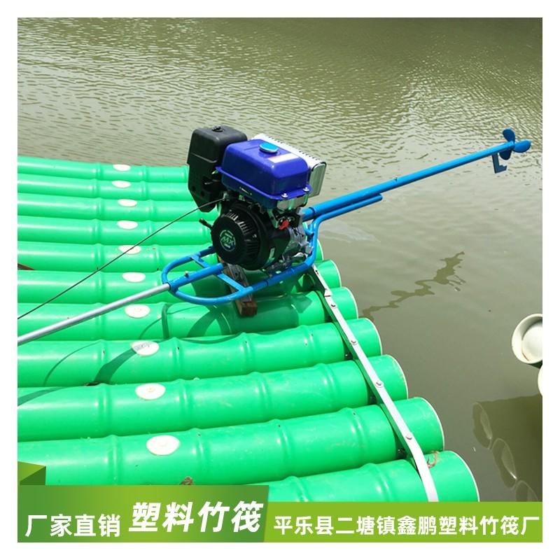 动力系统竹筏 动力pvc竹筏 pvc竹排船 桂林竹排报价