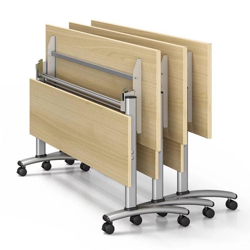折叠桌会议桌条桌培训课桌家用长方形书桌