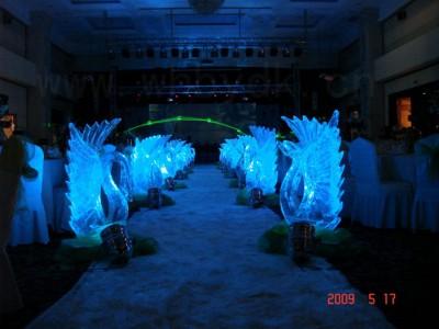 南宁冰雕制作厂家   高端活动启动仪式道具 婚礼冰雕制作
