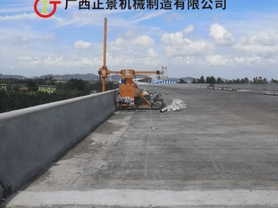 斜拉桥梁泄水管安装机器