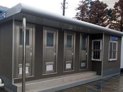 柳州移动厕所厂家 公园移动厕所 双位移动厕所