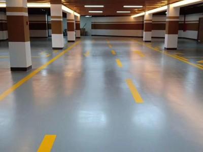 广西梧州市环氧自流平地坪漆材料厂家地下停车场耐磨防尘环氧自流平施工