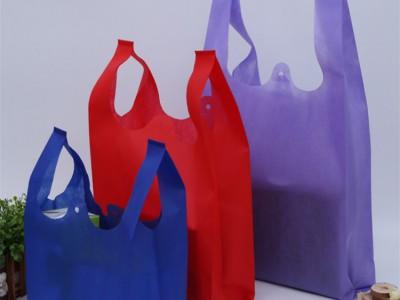 背心袋生产厂家 定做无纺布购物袋 厂家直销熔喷无纺布无纺布袋