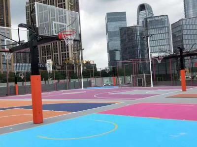 广西学校丙烯酸球场地坪漆材料厂家丙烯酸球场施工价格