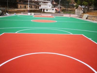 广西北海市丙烯酸球场地坪材料厂家丙烯酸球场施工价格