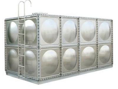 广西不锈钢水箱定做 不锈钢组合式水箱厂家 高强度组合式不锈钢水箱