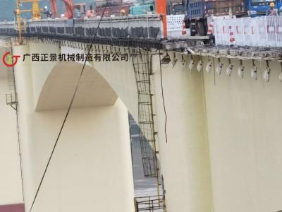 安装桥梁泄水管施工设备