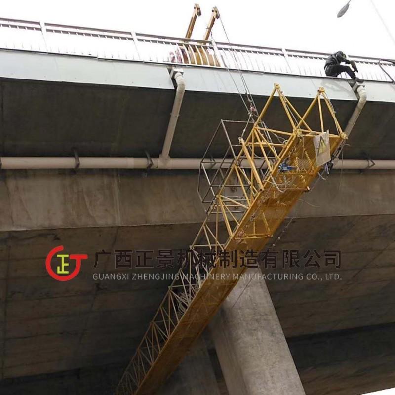 吊篮厂家加工定制 建筑喷涂吊篮 喷涂槽底吊篮 高空作业电动吊篮
