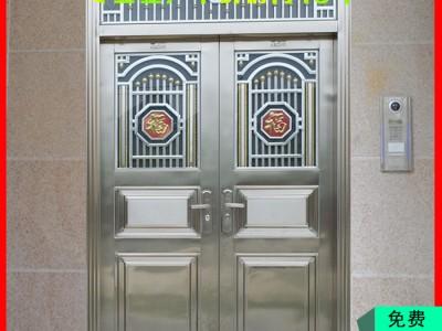 不锈钢子母门 不锈钢本色门定制 桂林不锈钢门厂家 不锈钢门批发