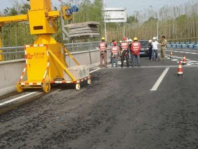 侧面桥梁检测设备  单边桥梁检测设备   桥梁安装排水管平台