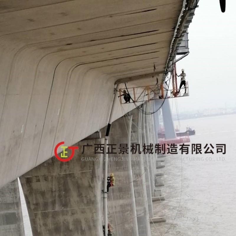 桥面下水管安装操作平台 效率高速度快