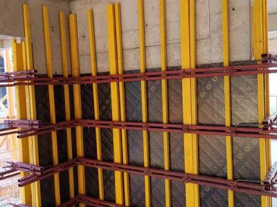 微睿创南宁剪力墙模板加固体系 Q235钢背楞钢支撑体系 图纸深化定做 售后现场指导