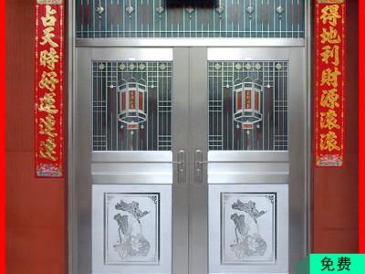 桂林金大吉不锈钢防盗门 纯304材质防盗门工厂直销包送货包安装