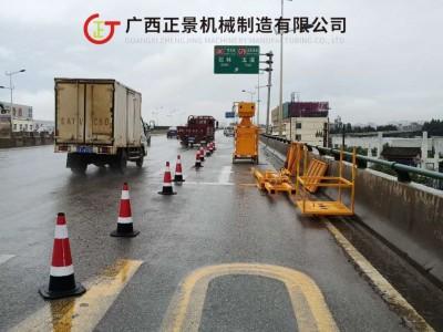 安装桥梁翼板泄水管施工设备
