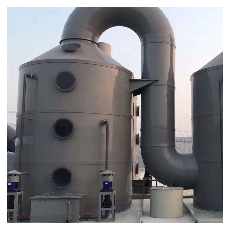 专业生产安装pp喷淋塔 废气喷淋塔 通风管道 厂家加工