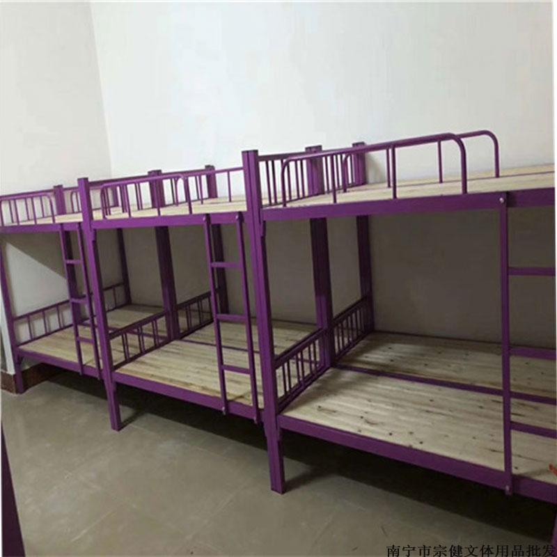 钦州单双层铁架床哪里买比较好,铁床供应厂