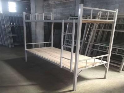 南宁市工地单层铁架床_双层铁架床批发出厂价_烤漆铁架床