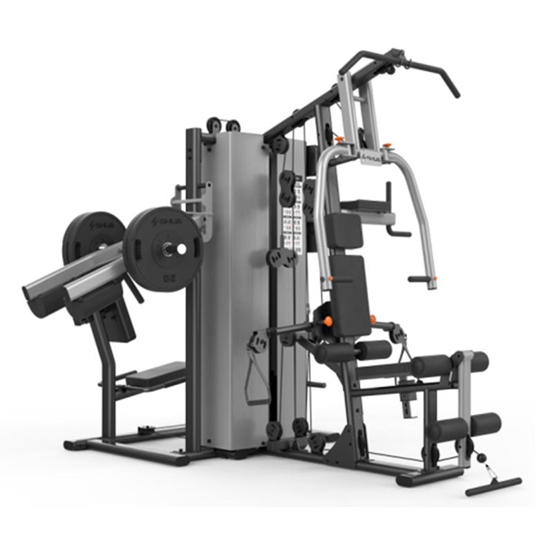 舒华高端大型综合性四人站室内健身器械运动健身力量器材SH-G5205