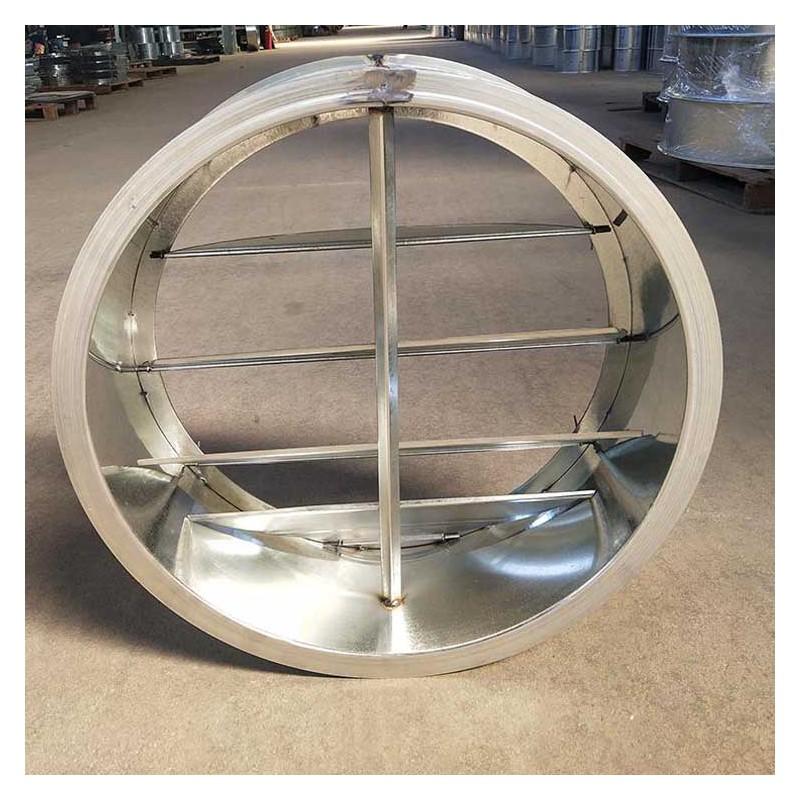 供应通风管道止回阀 单向调节阀 不锈钢圆形止回阀批发