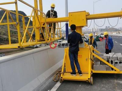 高速桥梁排水管施工安装设备