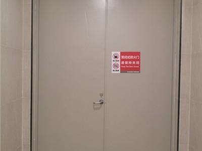 广西南宁防火门定制 楼梯通道钢质防火门 旅馆钢质隔热防火门 质优价廉