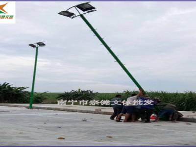 百色地区购买篮球场照明灯杆工厂_LED光源灯杆