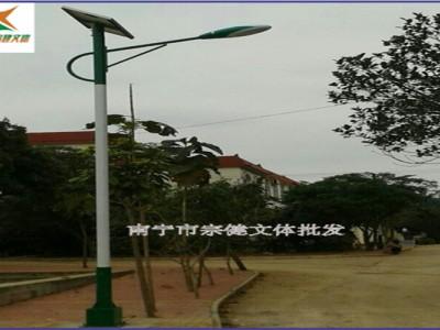 河池农村太阳能灯杆怎么卖  高配太阳能灯杆